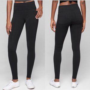 Athleta Metro High Rise Waist Legging Pockets M
